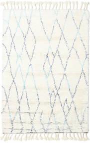 Rana - Natural/Blå Matta 160X230 Äkta Modern Handknuten Beige/Vit/Cremefärgad (Ull, Indien)