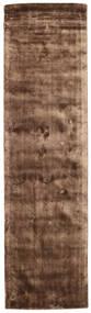 Brooklyn - Brun Matta 80X300 Modern Hallmatta Brun/Mörkbrun ( Indien)