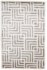 Maze Matta 250X350 Äkta Modern Handknuten Ljusgrå/Vit/Cremefärgad Stor ( Indien)