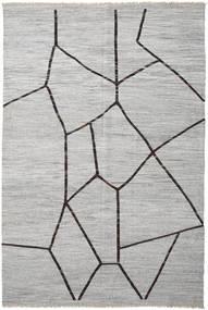 Kelim Semiantik Turkisk Matta 297X446 Äkta Orientalisk Handvävd Ljusgrå Stor (Ull, Turkiet)