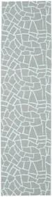 Utomhusmatta Terrazzo - Grön/Mint Matta 70X210 Modern Hallmatta Ljusblå/Ljusgrå ( Sverige)