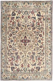 Yazd Patina Matta 237X365 Äkta Orientalisk Handknuten Ljusgrå/Beige (Ull, Persien/Iran)