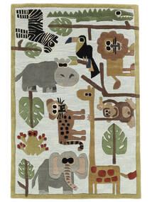 Zoo Handtufted Matta 120X180 Modern Ljusblå/Ljusgrå (Ull, Indien)