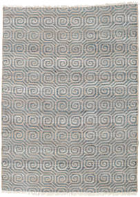 Utomhusmatta Thar Jute Matta 170X240 Äkta Modern Handvävd Ljusgrå/Blå (Jutematta Indien)