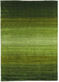 Gabbeh Rainbow - Grön Matta 300X400 Modern Mörkgrön/Olivgrön Stor (Ull, Indien)