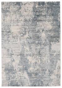 Triad - Grå/Blå Matta 160X230 Modern Vit/Cremefärgad/Ljusgrå/Ljusblå ( Turkiet)