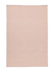 Kelim Loom - Dimrosa Matta 160X230 Äkta Modern Handvävd Ljusrosa (Ull, Indien)