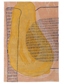 City Pear - 2018 Matta 200X300 Modern Ljusbrun/Orange ( Indien)