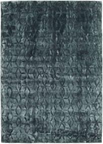 Diamond - Dark_Teal Matta 140X200 Modern Blå/Mörkblå ( Indien)
