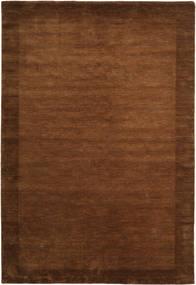 Handloom Frame - Brun Matta 200X300 Modern Brun (Ull, Indien)
