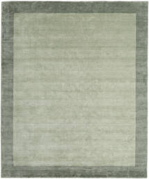 Handloom Frame - Grå/Grön Matta 250X300 Modern Ljusgrön/Pastellgrön Stor (Ull, Indien)
