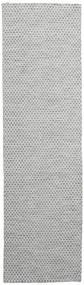 Kelim Honey Comb - Sekundär Matta 80X290 Äkta Modern Handvävd Hallmatta (Ull, Indien)