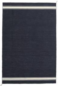 Ernst - Navy/Naturvit Matta 200X300 Äkta Modern Handvävd Mörkblå (Ull, Indien)