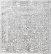 Maharani - Grå Matta 150X150 Modern Kvadratisk Ljusgrå ( Turkiet)