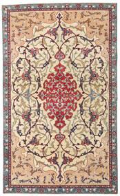 Najafabad Patina Matta 140X236 Äkta Orientalisk Handknuten Beige/Mörkbrun (Ull, Persien/Iran)