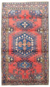 Wiss Matta 110X190 Äkta Orientalisk Handknuten Svart/Ljuslila (Ull, Persien/Iran)