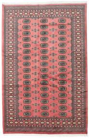 Pakistan Bokhara 2Ply Matta 167X255 Äkta Orientalisk Handknuten Mörkbrun/Ljusrosa (Ull, Pakistan)