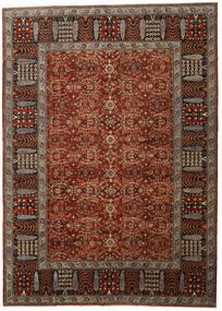 Afghan Exclusive Matta 305X423 Äkta Modern Handknuten Mörkbrun/Mörkröd Stor (Ull, Afghanistan)