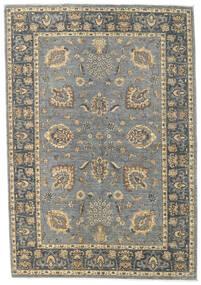Ziegler Ariana Matta 166X240 Äkta Orientalisk Handknuten Ljusgrå/Mörkgrå (Ull, Afghanistan)