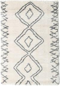 Berber Shaggy Massin Matta 120X170 Modern Beige/Ljusgrå/Mörkbeige ( Turkiet)