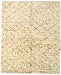 Gabbeh Persisk Matta 159X197 Äkta Modern Handknuten Beige/Mörkbeige (Ull, Persien/Iran)