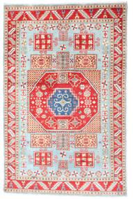 Kazak Matta 117X181 Äkta Orientalisk Handknuten Beige/Vit/Cremefärgad (Ull, Afghanistan)