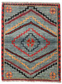 Gabbeh Rustic Matta 112X148 Äkta Modern Handknuten Ljusgrå/Grön (Ull, Persien/Iran)