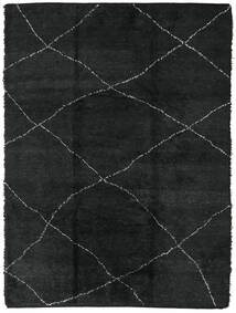 Berber Moroccan - Beni Ourain Matta 258X350 Äkta Modern Handknuten Mörkgrå Stor (Ull, Marocko)