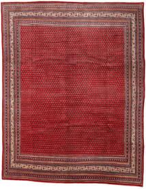 Sarough Mir Matta 290X361 Äkta Orientalisk Handknuten Mörkröd/Röd Stor (Ull, Persien/Iran)