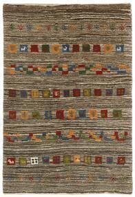 Gabbeh Persisk Matta 118X178 Äkta Modern Handknuten Ljusgrå/Mörkbrun (Ull, Persien/Iran)