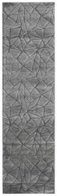 Patio - Grå Matta 100X350 Modern Hallmatta Mörkgrå/Ljusgrå ( Turkiet)