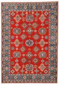 Kazak Matta 169X238 Äkta Orientalisk Handknuten Roströd/Ljusbrun (Ull, Afghanistan)