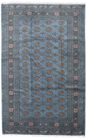 Pakistan Bokhara 3Ply Matta 203X317 Äkta Orientalisk Handknuten Blå/Mörkblå (Ull, Pakistan)
