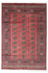 Pakistan Bokhara 2Ply Matta 157X229 Äkta Orientalisk Handknuten Mörkröd/Mörkbrun (Ull, Pakistan)