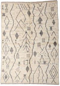 Moroccan Berber - Afghanistan Matta 167X234 Äkta Modern Handknuten Ljusgrå/Beige (Ull, Afghanistan)