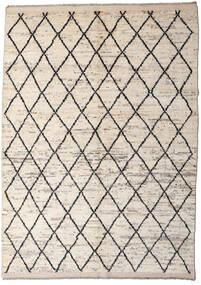 Moroccan Berber - Afghanistan Matta 172X232 Äkta Modern Handknuten Ljusgrå/Beige (Ull, Afghanistan)