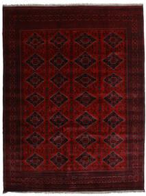 Kunduz Matta 253X331 Äkta Orientalisk Handknuten Mörkbrun/Mörkröd Stor (Ull, Afghanistan)