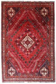 Ghashghai Matta 205X308 Äkta Orientalisk Handknuten Mörkröd/Röd (Ull, Persien/Iran)