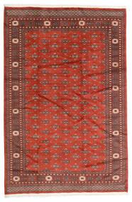 Pakistan Bokhara 2Ply Matta 186X280 Äkta Orientalisk Handknuten Mörkröd/Roströd (Ull, Pakistan)
