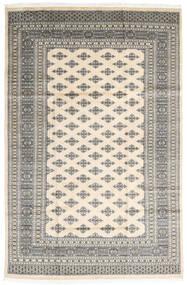 Pakistan Bokhara 2Ply Matta 182X279 Äkta Orientalisk Handknuten Ljusgrå/Beige (Ull, Pakistan)