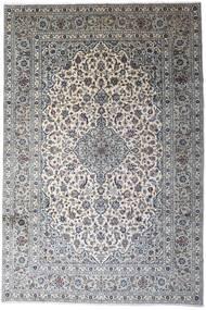 Keshan Matta 246X366 Äkta Orientalisk Handknuten Ljusgrå/Mörkgrå (Ull, Persien/Iran)