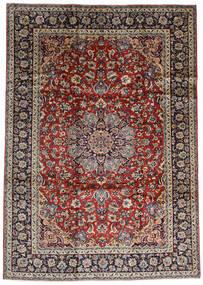 Najafabad Matta 243X338 Äkta Orientalisk Handknuten Mörkröd/Mörkbrun (Ull, Persien/Iran)