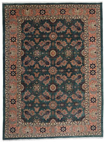 Ardebil Matta 295X393 Äkta Orientalisk Handknuten Svart/Mörkröd Stor (Ull, Persien/Iran)