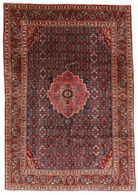 Bidjar Matta 204X290 Äkta Orientalisk Handknuten Mörkröd/Mörkgrå (Ull, Persien/Iran)