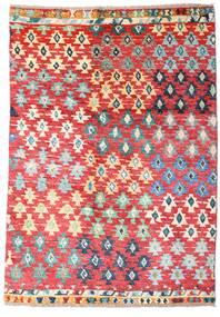Moroccan Berber - Afghanistan Matta 121X171 Äkta Modern Handknuten Roströd/Ljusrosa (Ull, Afghanistan)