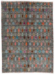Moroccan Berber - Afghanistan Matta 170X240 Äkta Modern Handknuten Mörkgrå/Ljusgrå (Ull, Afghanistan)