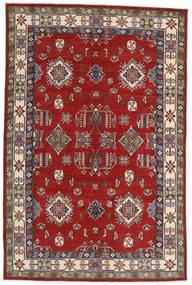 Kazak Matta 182X275 Äkta Orientalisk Handknuten Roströd/Mörkröd (Ull, Afghanistan)