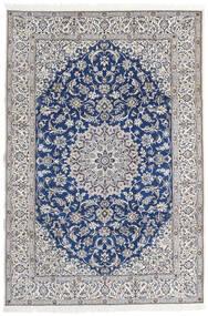 Nain 9La Matta 203X297 Äkta Orientalisk Handknuten Ljusgrå/Beige (Ull/Silke, Persien/Iran)