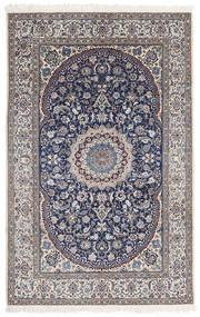 Nain 9La Matta 175X270 Äkta Orientalisk Handknuten Ljusgrå/Mörkgrå/Beige (Ull/Silke, Persien/Iran)