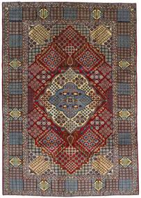 Keshan Matta 263X372 Äkta Orientalisk Handknuten Mörkbrun/Ljusbrun Stor (Ull, Persien/Iran)